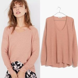 🌸 Madewell Kimball Pullover Scoop Neck Sweater